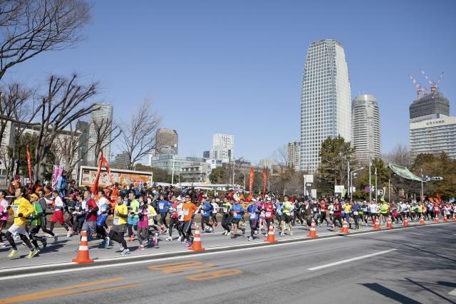 東京マラソン2018日程やコース・交通規制や時間規制は?迂回 ...